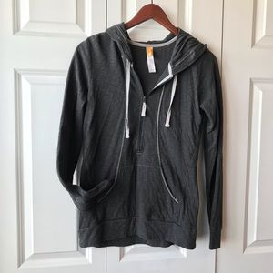 Lucy 3/4 Zip Hooded Athletic Wear -S